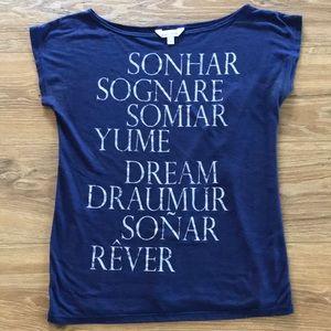 💤 Charming Charlie's Dream Short Sleeve Shirt 💤
